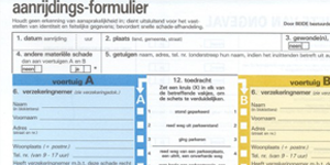 Hoe een Europees aanrijdingsformulier invullen?